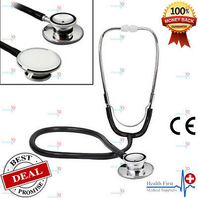 Valuemed Professional Dual Headed Stethoscope in Black