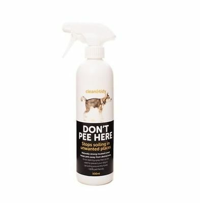 1 X Clean & Tidy Don't Pee Here By Sharples N Grant 500ml