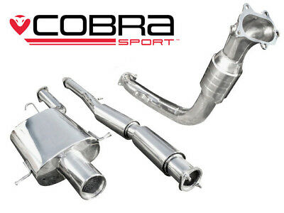 "Cobra Sport Impreza WRX/STI (93-00) 3"" Turbo Back Exhaust (Sports Cat) - Track"