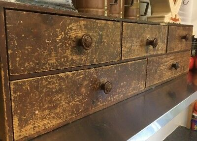 Vintage Apothecary Set Of Drawers