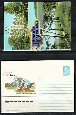 "Latvia - 1989 ""Jurmala"" Postal Stationary (Cover + Card)"