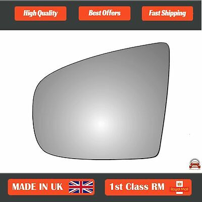 Left Side Clip On Heated Mirror Glass for BMW X6 E71 2008-2012 0282LSHE11