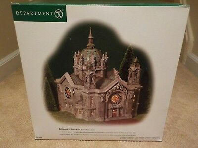 New: Dept 56 Christmas In The City- Rare - Cathedral Of St. Paul 58930 Retired