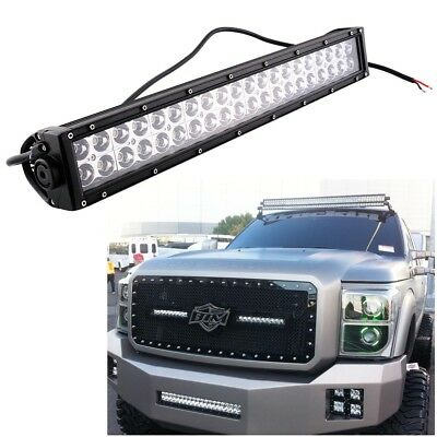 22inch 120W 40-LED CREE Work Light Bar Spot Flood Offroad JEEP ATV 24V