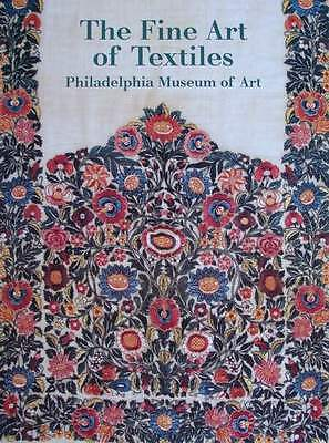 BOOK : The Fine Art of Textiles (quilts,embroidery,lace,Islamic,Indonesian batik
