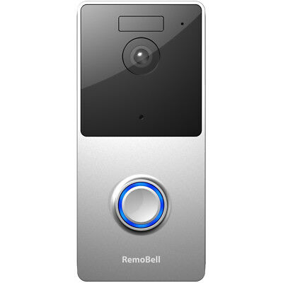 Olive & Dove RemoBell WiFi Video Doorbell (Battery Powered, Night Vision) RMB1M