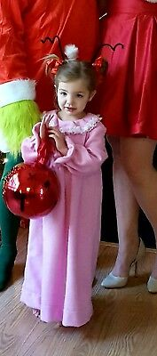 Cindy Lou Who and Max costume from The Grinch who stole Christmas