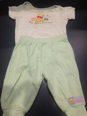Baby Clothes-Clothing Set-Disney-Winnie the Pooh Outfit-(3-6M) Boy or Girl