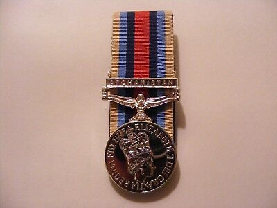 OSM Afghanistan Full Size Medal Court Mounted Op Herrick Afghan