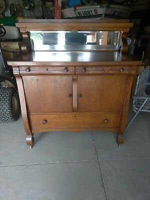 Beautiful Old Oak Buffet