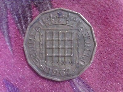 Great   Britain    Threepence   1962