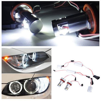 2X Ampoules Angel Eyes LED H8 10W BMW E87 E88 E90 E91 E92 E60 E63 E64 E70 E71 Z4