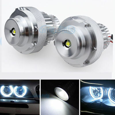 2X Angel Eyes LED 40W BMW Série 5 E60 E61 Facelift LCI ( Sans phare Xenon )