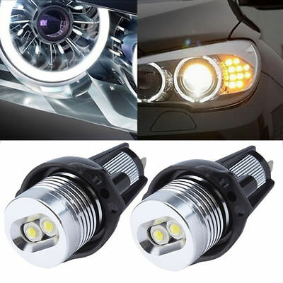 2X Ampoules Angel Eyes LED 10W BMW Série 3 E90 E91 : 316 318 320 325 330 335