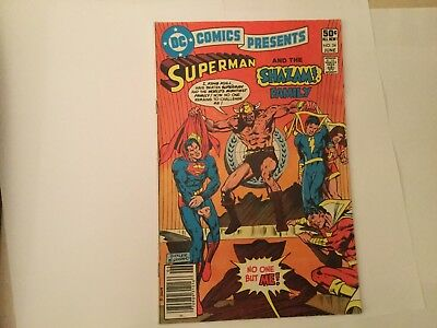 DC Comics presents Superman and the Shazam Family # 34