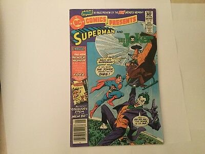 DC Comics presents Superman and the Joker and new Wonder Woman # 41
