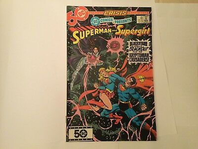 DC Comics presents Superman and Supergirl # 86