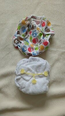 easy peasy bumble nappy plus owl blueberry coverall and nappy nippa