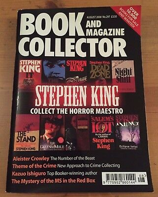 Book And Magazine Collector #297 - August 2008 - STEPHEN KING