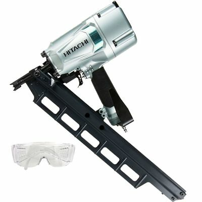 "Hitachi NR83A5 3-1/4"" Round Head Plastic Collated Framing Nailer New"