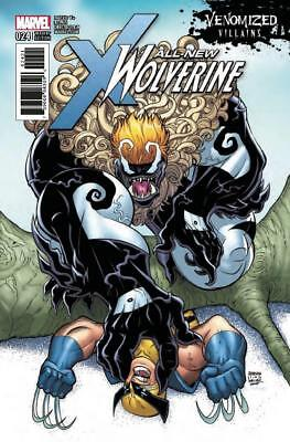 All New Wolverine #24 Venomized Variant Sabretooth