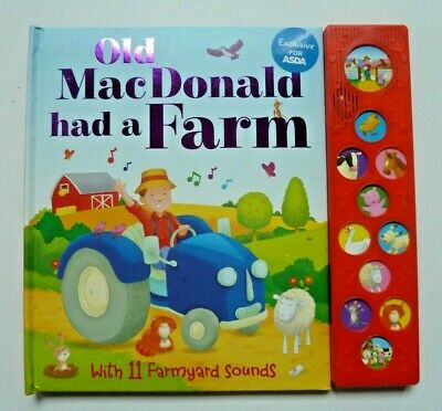 Baby/Kids Sound book Old MacDonald had a Farm hardback NEW!!!, Ages 6 month+
