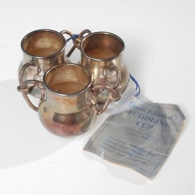 Vintage Silverplate Fuddling Cup By Andover Silver Co.