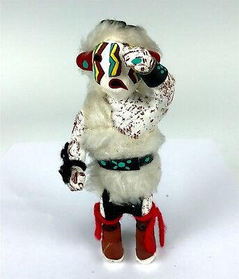 Adorable Native American Hopi Carved Child Crying Kachina Doll