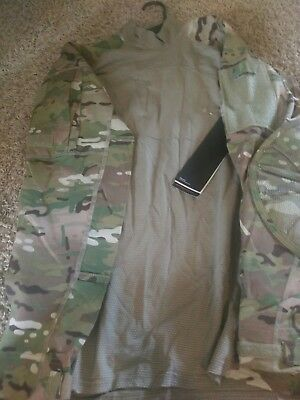 Army Combat Shirt Large 4856 OCP Multicam w/tags aircrew flight flame resistant