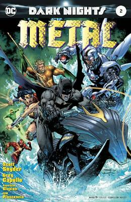 Dark Nights Metal #2 Jim Lee Variant Cover Scott Snyder Greg Capullo Batman
