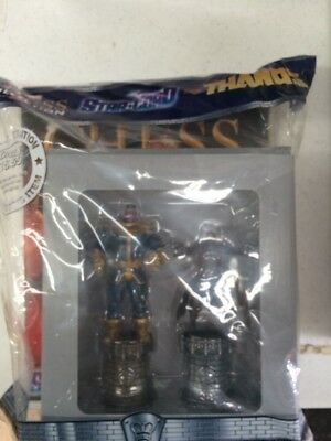 Star Lord & Thanos Special Edition Chess Collection SET Eaglemoss BOX + MAGAZINE