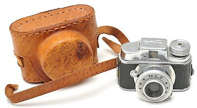 Camera Miniature with w/  Leather Case - JAPAN