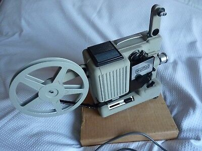Eumig P8, Vintage 8mm film projector,Not tested,appears in GC -may need repairs