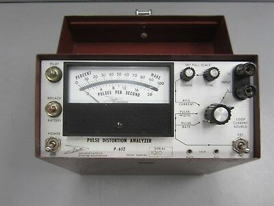 Proctor Pulse Distortion Analyzer Vintage Electronics - Untested