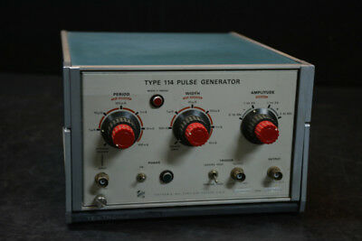 Tektronix 114 Pulse Generator
