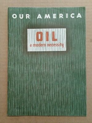"""Oil"" Our America Coca-Cola Trade Card Album,Complete,1942"