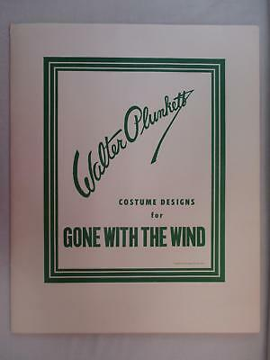 Walter Plunkett Costume Designs For GONE WITH THE WIND Signed Litho Set 268/1000
