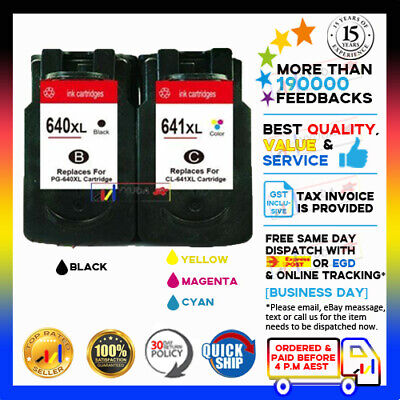 Generic Ink PG-640XL CL-641XL PG640 CL641 For Canon Pixma MG2160 MG2260 MG3160