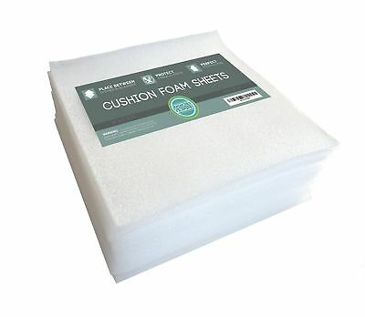 "Cushion Foam Sheets 12"" X 12"" (50 Count) Packing Cushioning Supplies for Movi..."
