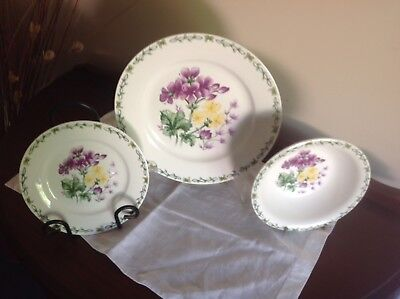 Thomson Pottery dinner setting -Floral Garden Pattern (part)