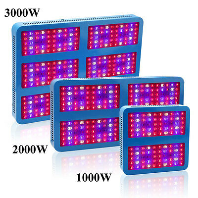 Full Spectrum 18W 1000W 2000W 3000W LED Grow Light Panel Bloom Flowering Growth
