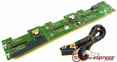 Dell Poweredge R710 6 Bay Sas / Sata Hard Drive Backplane W814D 0Xt622