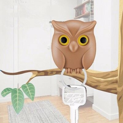 Practical Owl Key Holder Wall Mounted Magnetic Key Holder Creative Home Decor
