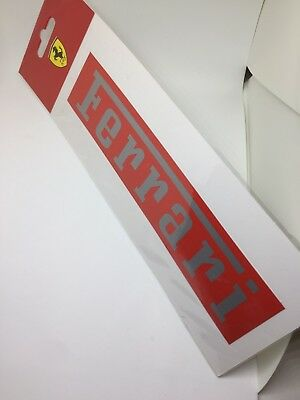 Ferrari sticker Official Licensed Product