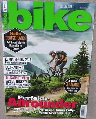 bike mountainbike magazin aktuelle ausgabe 10 2017 neuwertige zeitschrift eur 1 60 picclick de. Black Bedroom Furniture Sets. Home Design Ideas