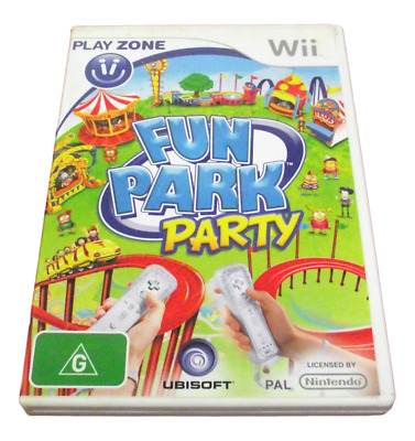 Fun Park Party Nintendo Wii PAL *Complete* Wii U Compatible