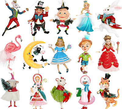 Gisela Graham Disney Themed Characters Hanging Christmas Xmas Tree Decorations