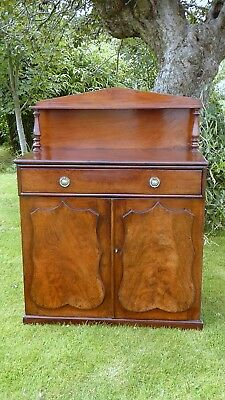 Victorian Flame Mahogany Chiffonier /bookcase No Reasonable Offer Refused