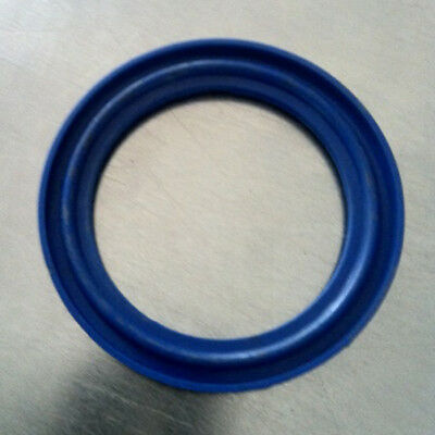 "1"" - 4"" TRI-CLOVER BS4825 LIPPED BLUE EPDM CLAMP SEALS - Brand new!"