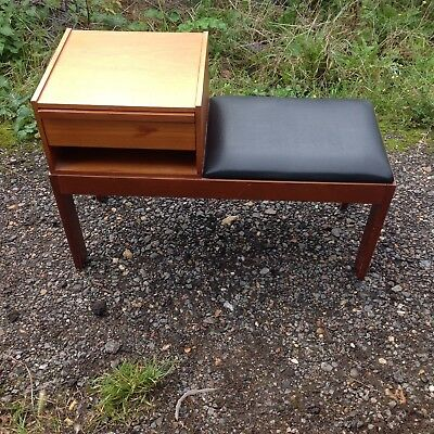 Original Chippy Telephone Seat/ Vintage 1960s